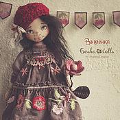 Куклы и игрушки ручной работы. Ярмарка Мастеров - ручная работа Вишенка. Handmade.