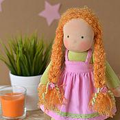Куклы и игрушки ручной работы. Ярмарка Мастеров - ручная работа Вальдорфская кукла Оливия, 34 см. Handmade.