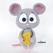 Мягкие игрушки ручной работы. Ярмарка Мастеров - ручная работа Мягкие игрушки: Мышонок Феня. Handmade.