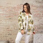 Одежда handmade. Livemaster - original item Linen shirt
