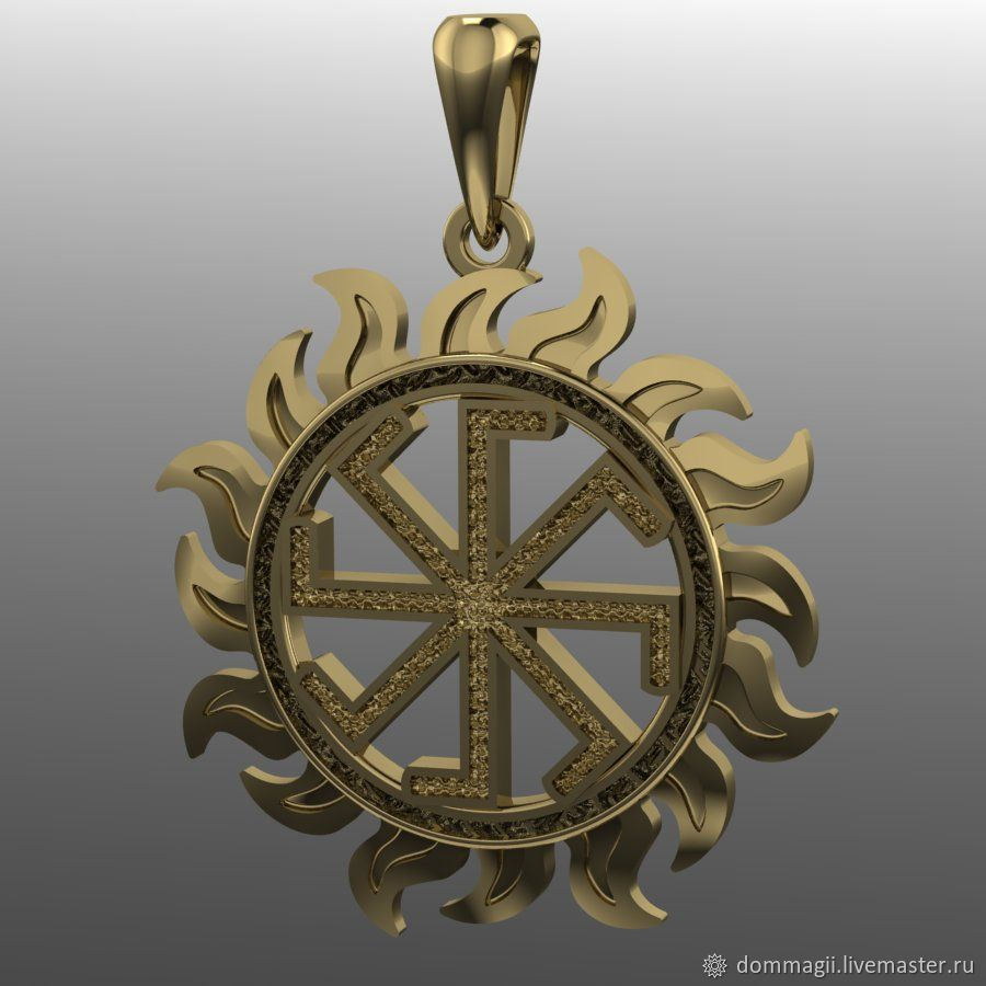Ladinets gold, Amulet, Moscow,  Фото №1