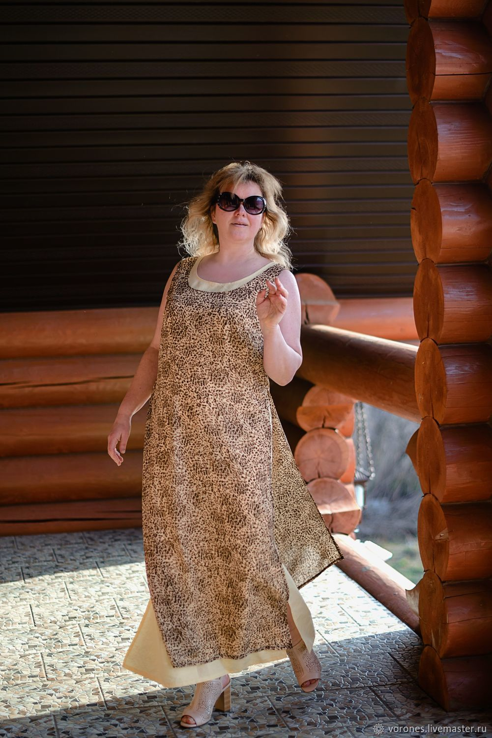 Dress 'Leopard'. Layering. Two in one, Dresses, Moscow,  Фото №1