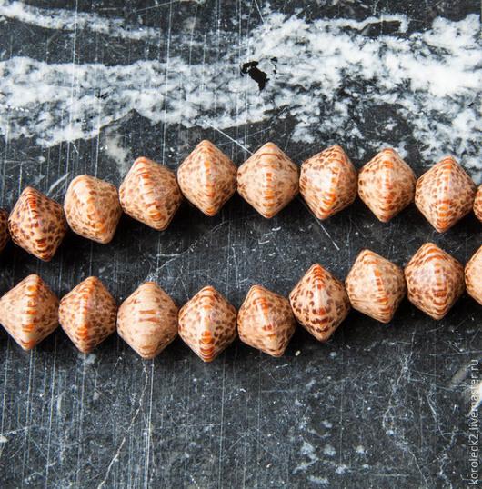 Для украшений ручной работы. Ярмарка Мастеров - ручная работа. Купить Бусины-диски из пальмового дерева 10 мм. Handmade.