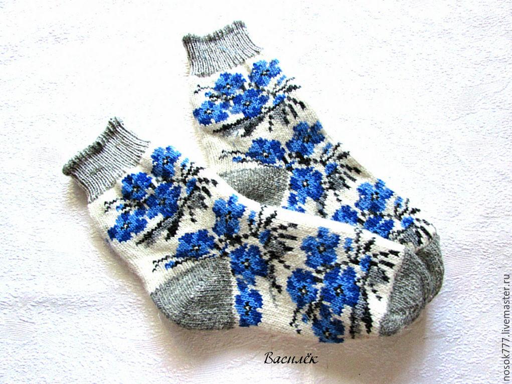 Вязание женских носков 38 размера