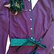 Платья ручной работы. Платье Brigite. Florinio - авторская одежда. Ярмарка Мастеров. Изумрудный цвет