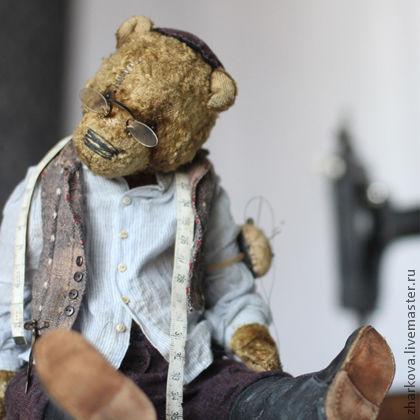 Мишки Тедди ручной работы. Ярмарка Мастеров - ручная работа. Купить Моня. Handmade. Коллекционные медведи