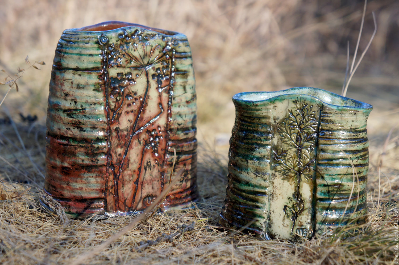 Ceramic vase 'summer Goes...', Suspension, Severobaikalsk,  Фото №1