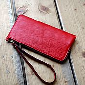 Сумки и аксессуары handmade. Livemaster - original item Purse red art. 455. Handmade.