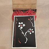 """Подарки к праздникам ручной работы. Ярмарка Мастеров - ручная работа Japanese binding """"Таинственное великолепие"""". Handmade."""