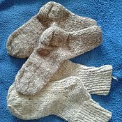 Аксессуары ручной работы. Ярмарка Мастеров - ручная работа носки шерстяные. Handmade.