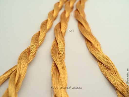 Вышивка ручной работы. Ярмарка Мастеров - ручная работа. Купить №1 Японские нитки, красное золото. Handmade. Золотой