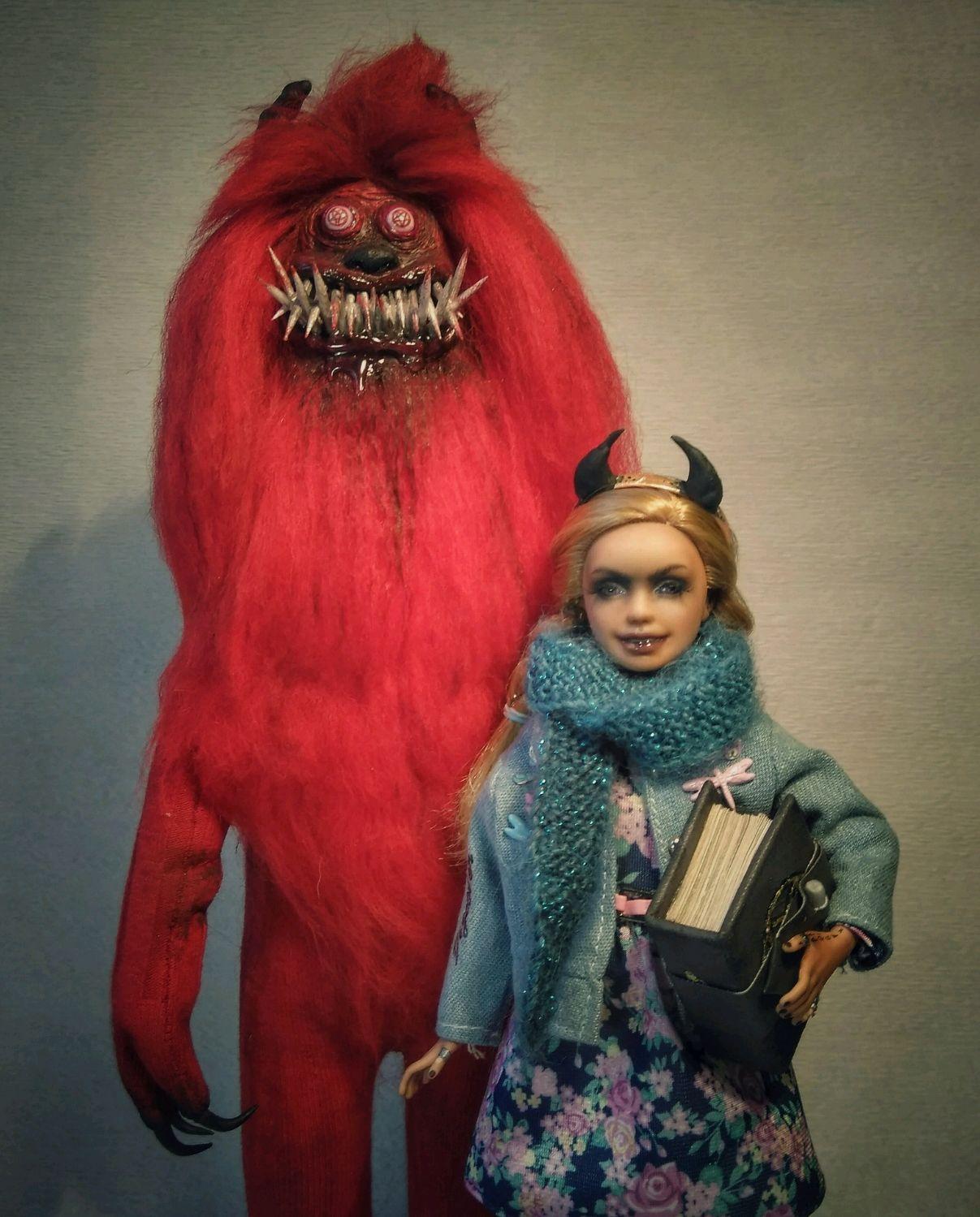 """""""Не все книги следует читать"""". ООАК, Шарнирная кукла, Комсомольск-на-Амуре,  Фото №1"""