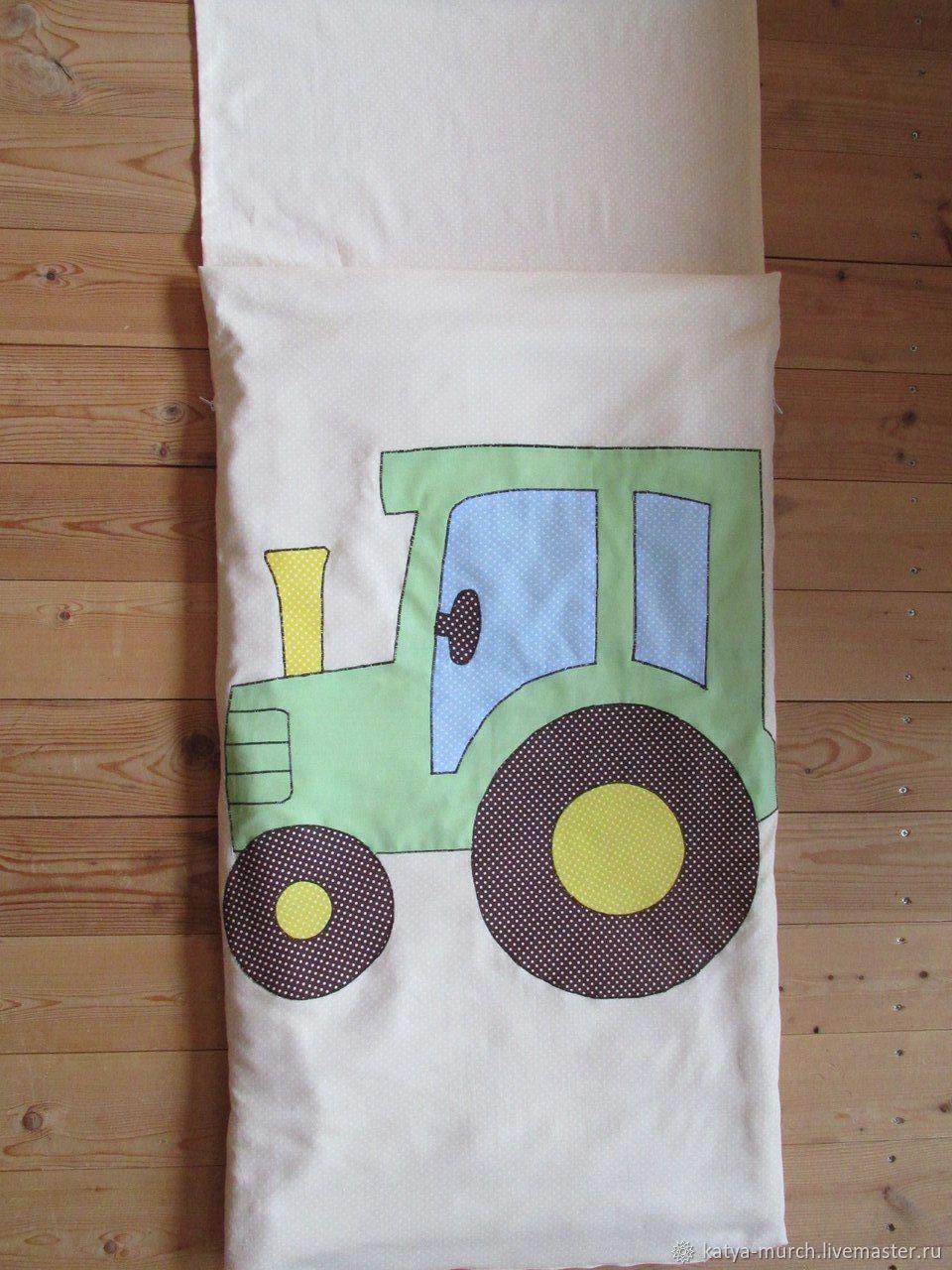 Детская ручной работы. Ярмарка Мастеров - ручная работа. Купить Детский спальник, спальный мешок. Handmade. Бежевый, спальный мешок