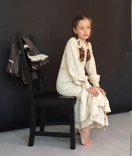 """Одежда для девочек, ручной работы. Ярмарка Мастеров - ручная работа. Купить Платье """"Поли-кантри"""". Handmade. Бохо, Бохо платье"""