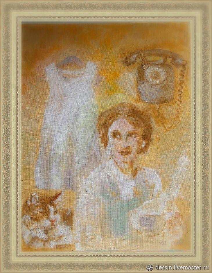 ХОТИТЕ ТИШИНЫ - ШАГНИТЕ В ОСЕНЬ, картина, авторская работа, Картины, Рязань,  Фото №1
