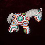 Куклы и игрушки ручной работы. Ярмарка Мастеров - ручная работа Лошадка вязаная. Handmade.