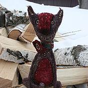 Куклы и игрушки ручной работы. Ярмарка Мастеров - ручная работа Кошка бордо. Handmade.