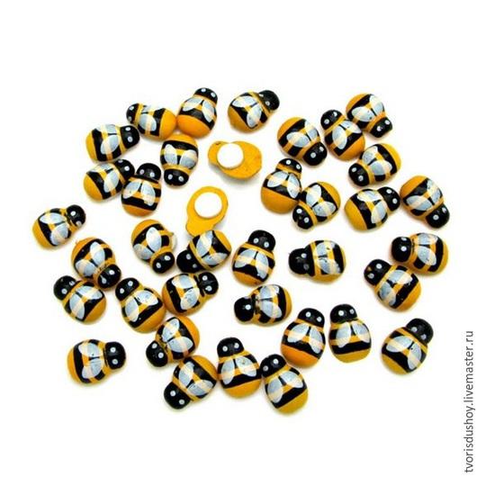 Другие виды рукоделия ручной работы. Ярмарка Мастеров - ручная работа. Купить Пчёлка  для флористики и декора. Handmade. Пчелка