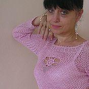 """Одежда ручной работы. Ярмарка Мастеров - ручная работа Кофточка """"Розовая жемчужина"""". Handmade."""