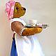 Мишки Тедди ручной работы. Ярмарка Мастеров - ручная работа. Купить Мишка Шоколадница. Handmade. Бледно-розовый, интерьерная игрушка