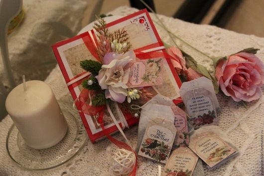 Персональные подарки ручной работы. Ярмарка Мастеров - ручная работа. Купить чай с пожеланиями. Handmade. Подарок на любой случай