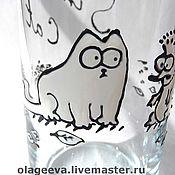 Посуда ручной работы. Ярмарка Мастеров - ручная работа Стакан Simon`s cat. Handmade.
