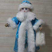Куклы и игрушки ручной работы. Ярмарка Мастеров - ручная работа Снегурочка, кукла текстильная. Handmade.