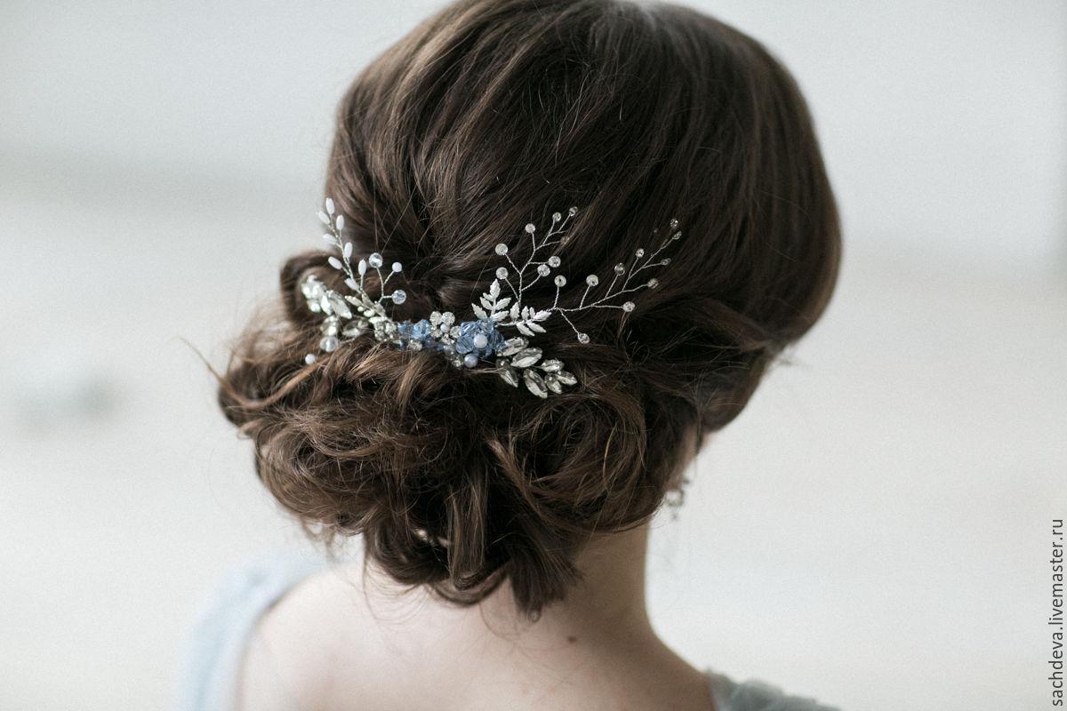 Гребешок свадебный для волос