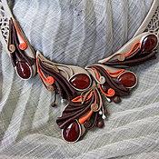 """Украшения ручной работы. Ярмарка Мастеров - ручная работа Колье """"Сандал"""". Handmade."""