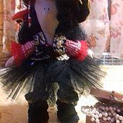 Куклы и игрушки ручной работы. Ярмарка Мастеров - ручная работа Очаровательная пиратка. Handmade.