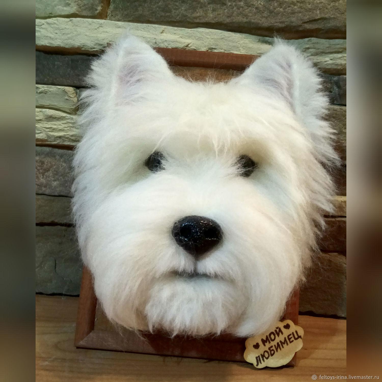 Портрет собаки, Мягкие игрушки, Санкт-Петербург,  Фото №1