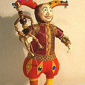 """Куклы и игрушки ручной работы. Ярмарка Мастеров - ручная работа """"Кукла  """"Шут"""". Handmade."""