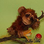 Куклы и игрушки ручной работы. Ярмарка Мастеров - ручная работа Обезьянка Сара. Handmade.