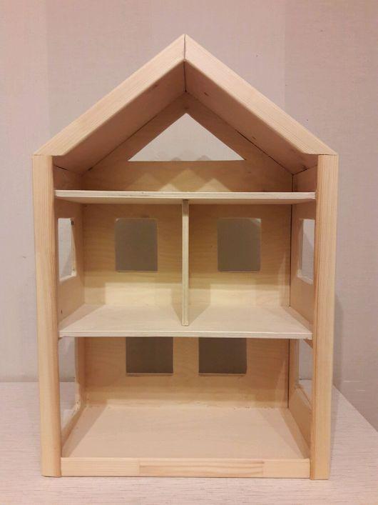 Кукольный дом ручной работы. Ярмарка Мастеров - ручная работа. Купить Деревянный кукольный домик. Handmade. Домик, фанера