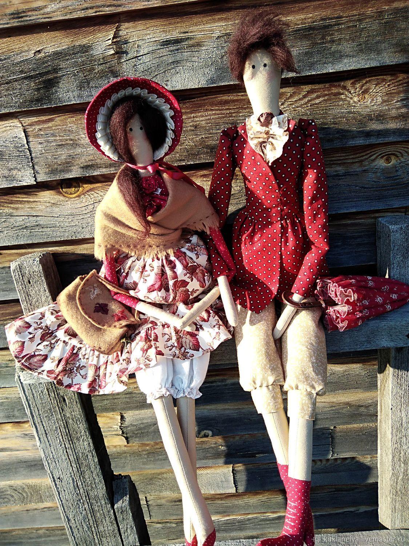 Кукла Тильда ручной работы Осенняя сказка))), Тильды, Кемерово, Фото №1