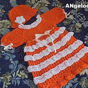 Работы для детей, ручной работы. Ярмарка Мастеров - ручная работа оранжевое настроение. Handmade.