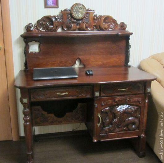 Мебель ручной работы. Ярмарка Мастеров - ручная работа. Купить Компьютерный стол в стиле Ренессанс. Handmade. Стол, оригинальный подарок