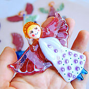 Подарки к праздникам handmade. Livemaster - original item christmas decoration. christmas decor. angel.. Handmade.
