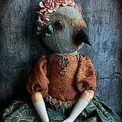 Куклы и игрушки ручной работы. Ярмарка Мастеров - ручная работа Птица Фрида. Handmade.
