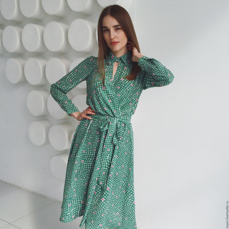 ef2f5feda4e Handmade Платья ручной работы. Платье с запахом. Майя Ри (MYARI). Интернет-  ...