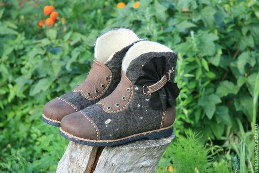 Обувь ручной работы. Ярмарка Мастеров - ручная работа. Купить Графит. Handmade. Черный, мода, кожа