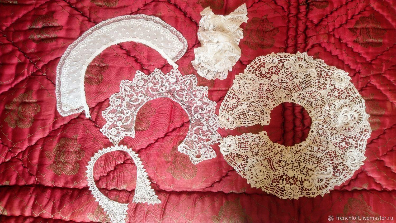 Винтаж: Лот старинных воротничков, Винтажные куклы, Нант, Фото №1