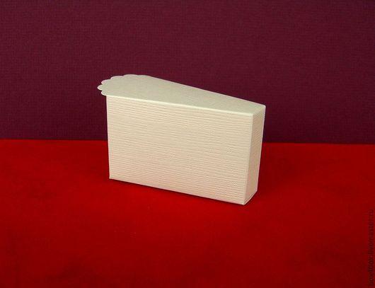 Подарочная упаковка ручной работы. Ярмарка Мастеров - ручная работа. Купить Коробочка -торт. Handmade. Белый, с тиснением, красивая упаковка