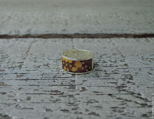 """Кольца ручной работы. Ярмарка Мастеров - ручная работа. Купить Кольцо """"Кофе с молоком"""". Handmade. Подарок, бежевый"""