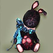 Куклы и игрушки ручной работы. Ярмарка Мастеров - ручная работа Зайка тедди Вишенка. Handmade.