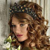 Украшения handmade. Livemaster - original item Guinevere tiara with Swarovski crystals. Handmade.