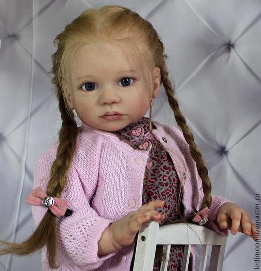 Куклы-младенцы и reborn ручной работы. Ярмарка Мастеров - ручная работа. Купить Эля. Handmade. Бледно-розовый, елена ядрина