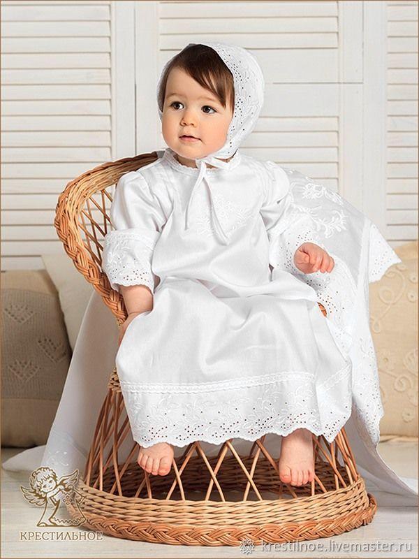 Набор для крещения Елена, Комплекты одежды, Москва, Фото №1