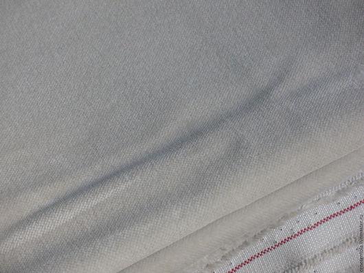 Винтажные предметы интерьера. Ярмарка Мастеров - ручная работа. Купить винтажный итальянский бархат. цвет молочный. Handmade. Белый, бархат