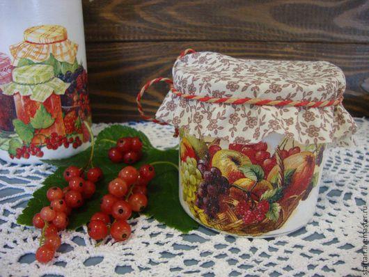"""Кухня ручной работы. Ярмарка Мастеров - ручная работа. Купить банки  """"фруктовый микс"""". Handmade. Белый, коробка для чая, стекло"""
